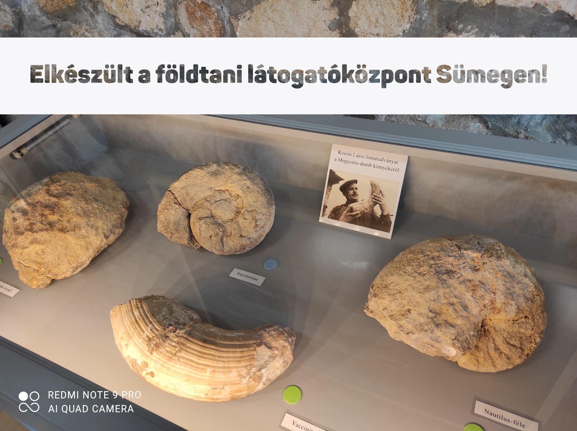 Mogyorósdomb látogatóközpont Sümegen
