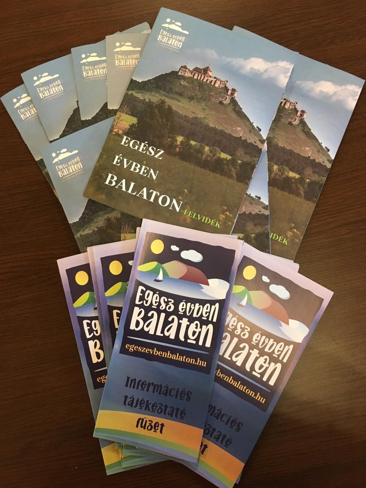 Megjelent Egész évben Balaton-felvidék című kiadványa