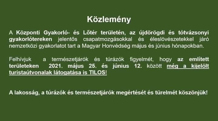 Magyar Honvédség Közlemény