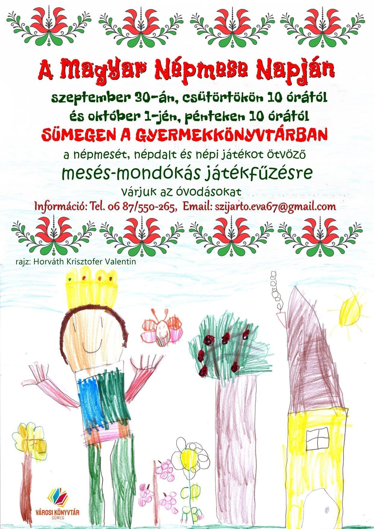 Magyar Népmese napja: mesés, mondókás játékfűzés