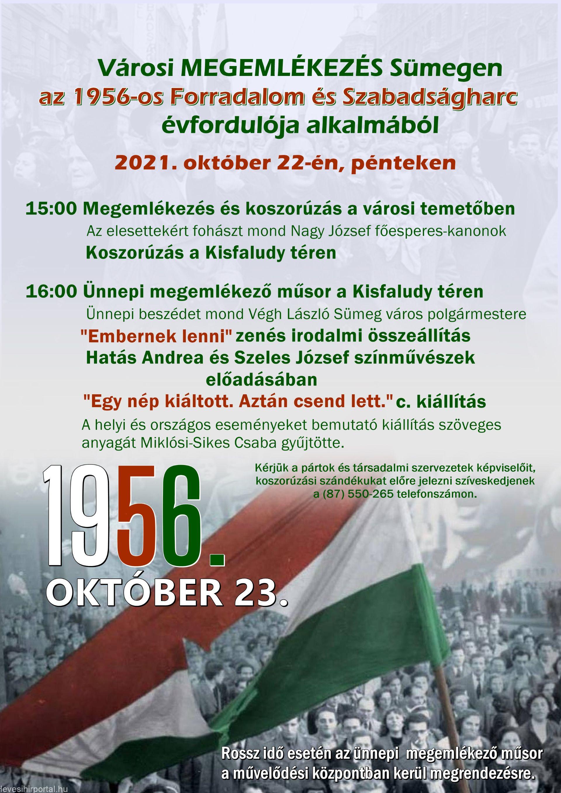 1956-os forradalom és szabadságharc