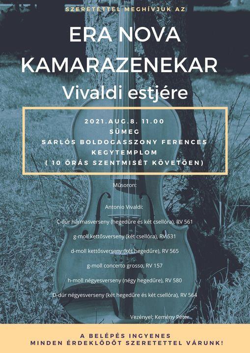 Era Nova Kamarazenekar- Vivaldi estjére